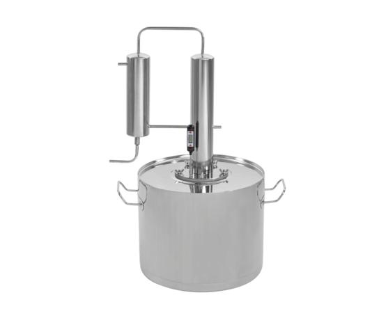 самогонный аппарат с термометром из скороварки
